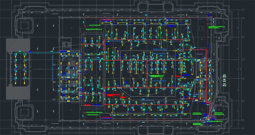 Outsourcing AutoCAD drafting services at AXA
