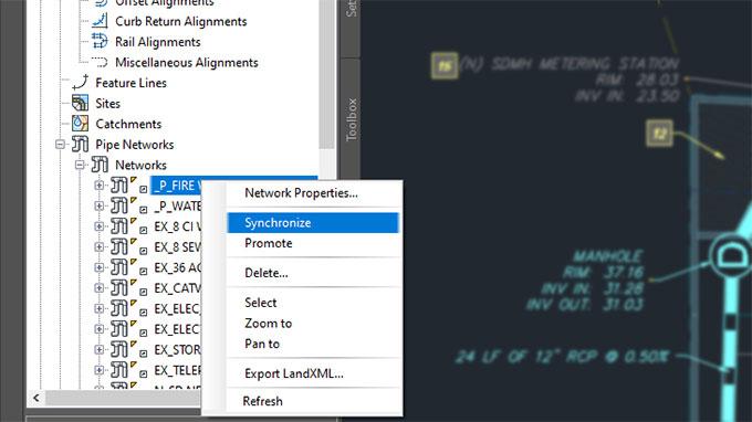 Using Data shortcut in Civil 3D